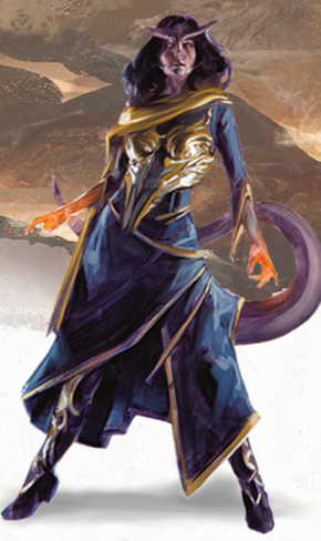 Tiefling 5e (5th Edition) in Dungeons and Dragons
